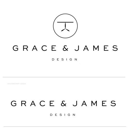 Contemporary furniture logo design