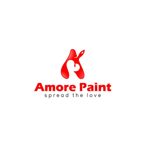 Logo for amore paint