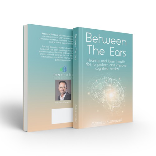 Between The Ears - Book cover design contest