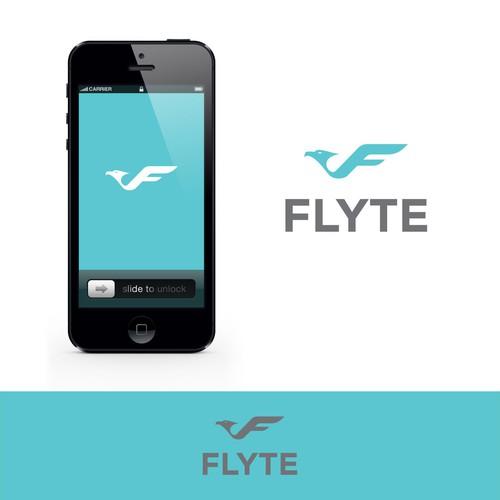 FLYTE logo design