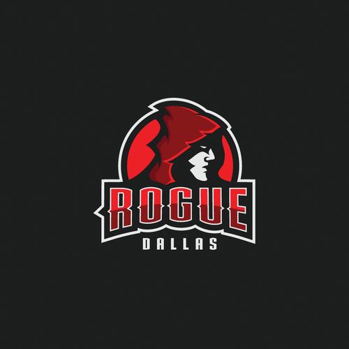 Logo for dodgeball team