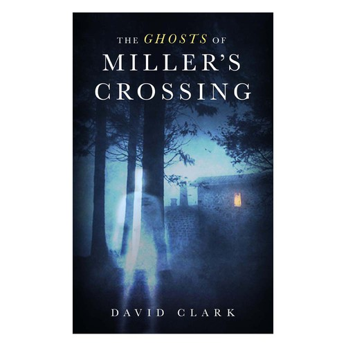 Spooky cover for ghost story