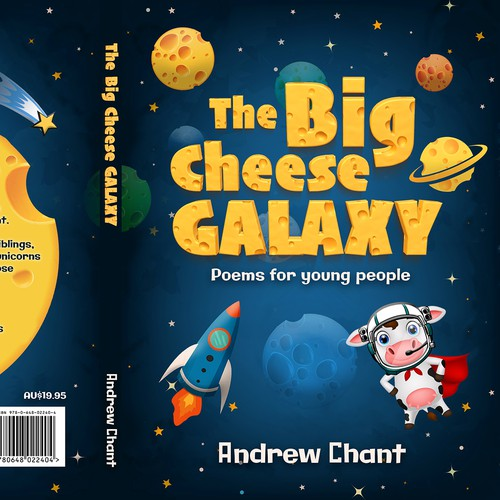 "Cover for the book ""The Big Cheese Galaxy"""