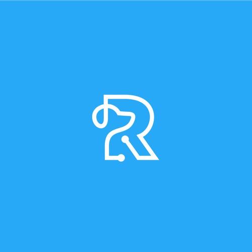 R monogram logo