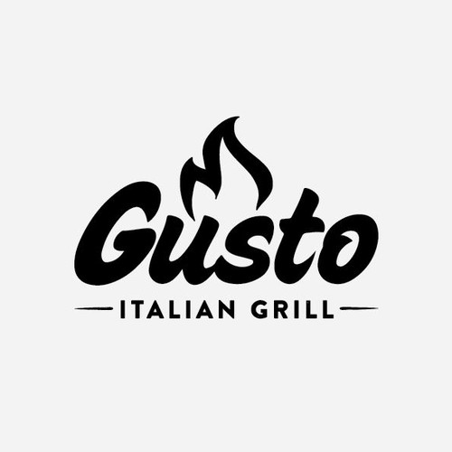 Create a logo for a new fast casual restaurant Gusto Italian Grill