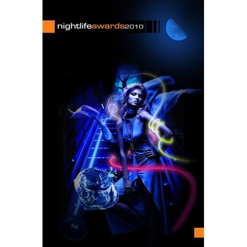 Award winning NightLife poster
