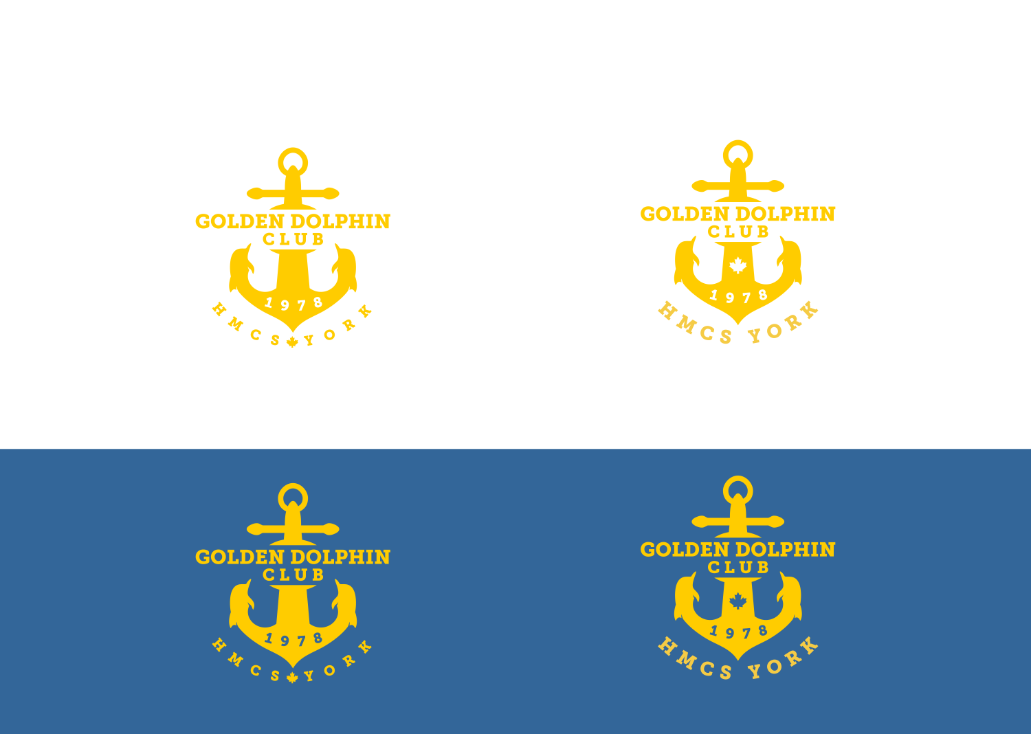 Create a crest for a Royal Canadian Navy Junior Ranks Mess