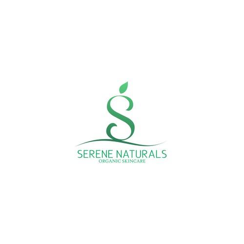 Simple and sleek Logo Conceptfor Serene naturals