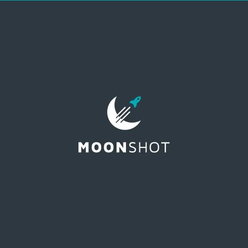 MOONSHOT project logo design