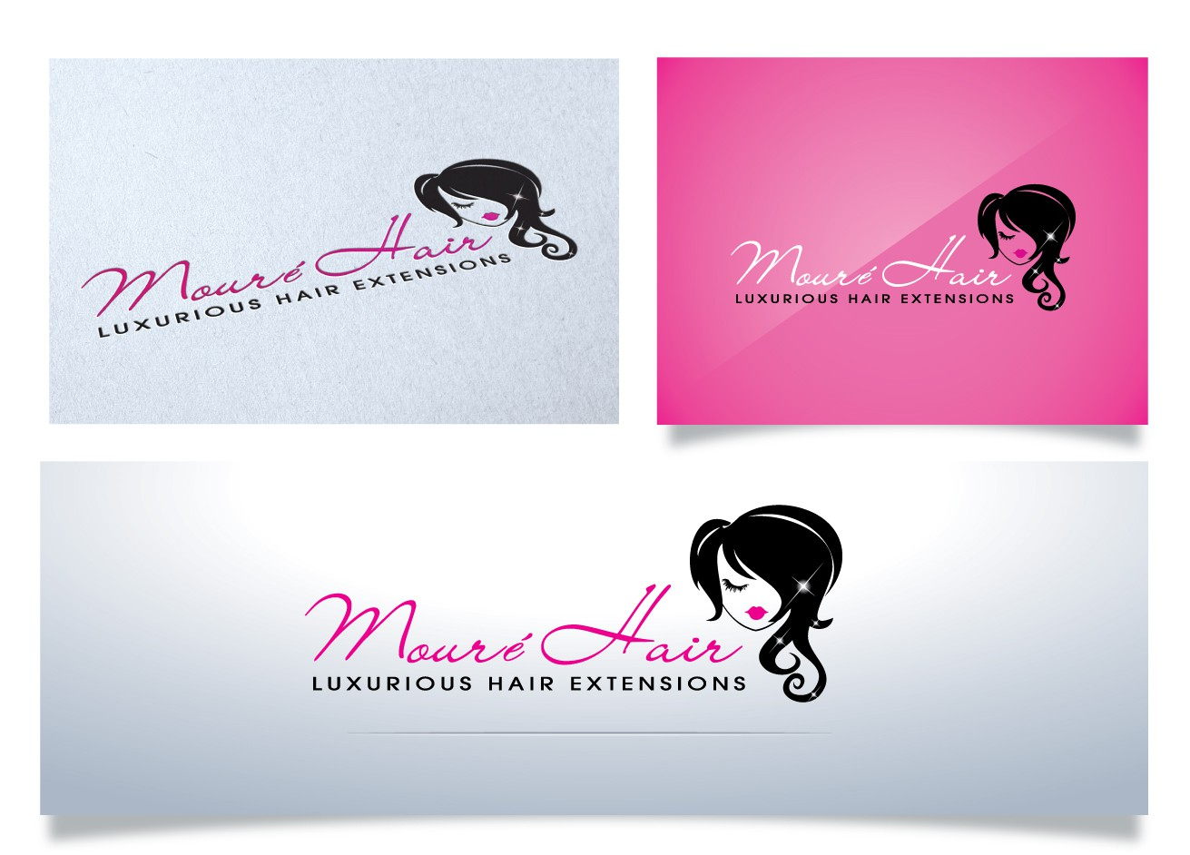Help Mouré Hair with a new logo