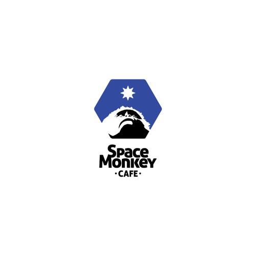 "Design the ""Space Monkey Cafe"" Logo"