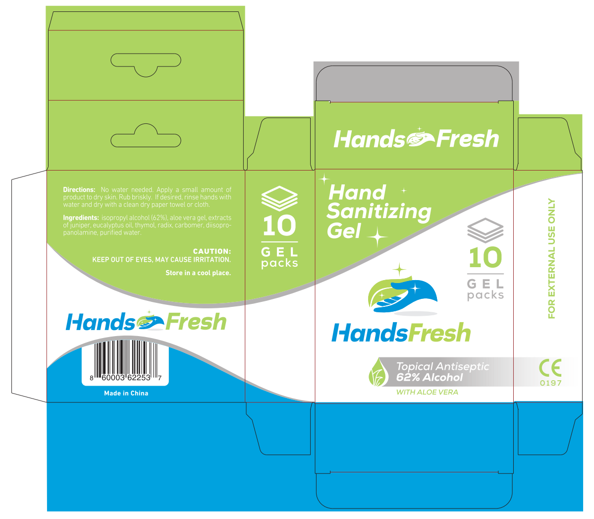 Boxes for HandsFresh