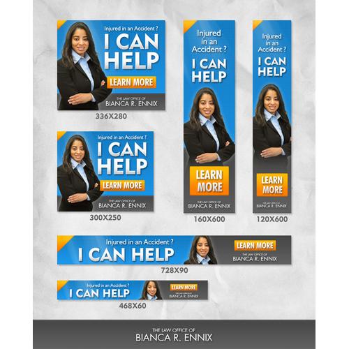Banner Ads for Bianca R. Ennix