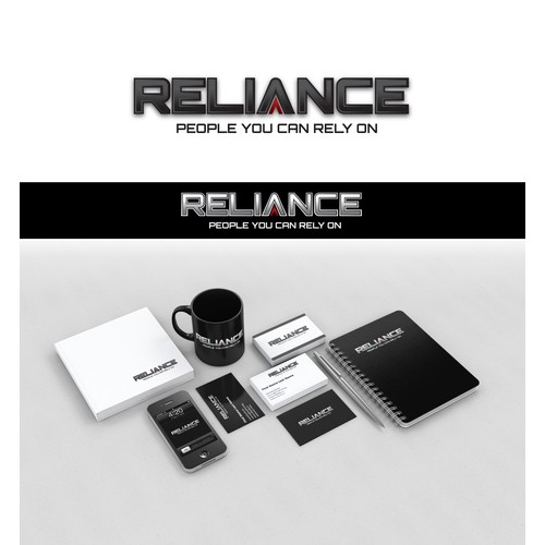 Bold quick logo for Reliance
