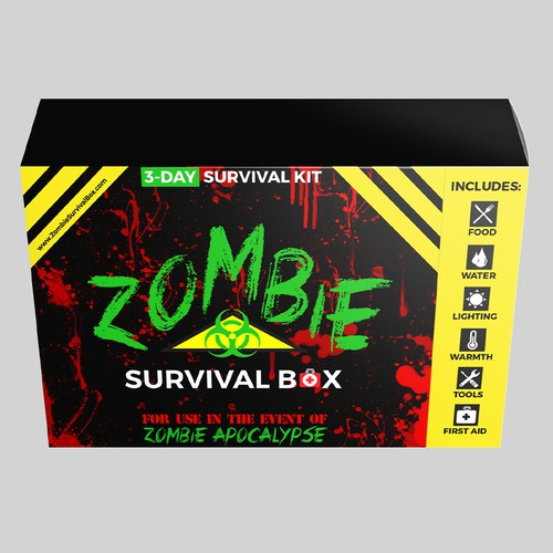 Zombie Survival Pacakaging