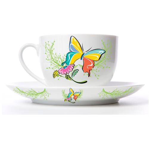 Create designs for coffee cups!