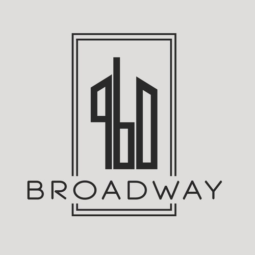 Logo concept for a newly renovated high end apartments firm