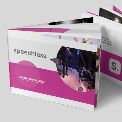 Brand guidelines for speechless.
