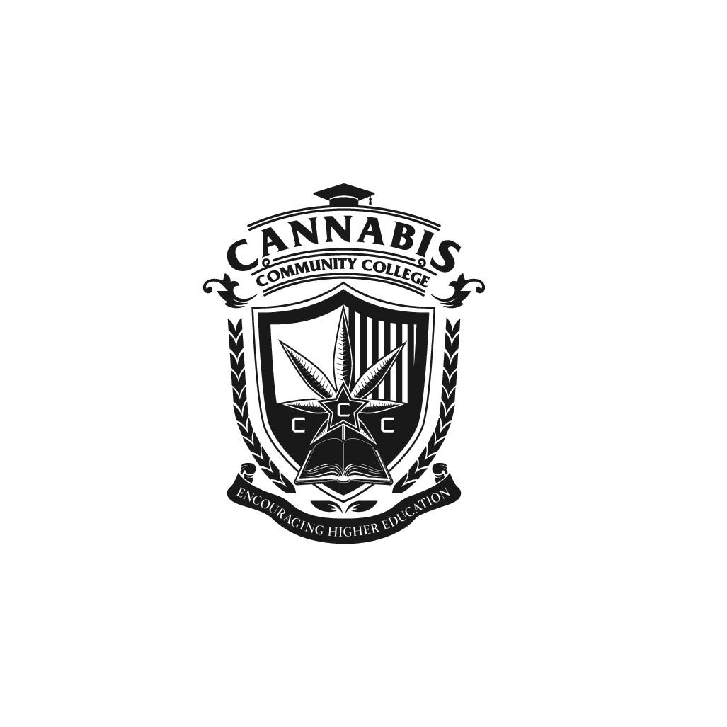 Cannabis School Crest Logo