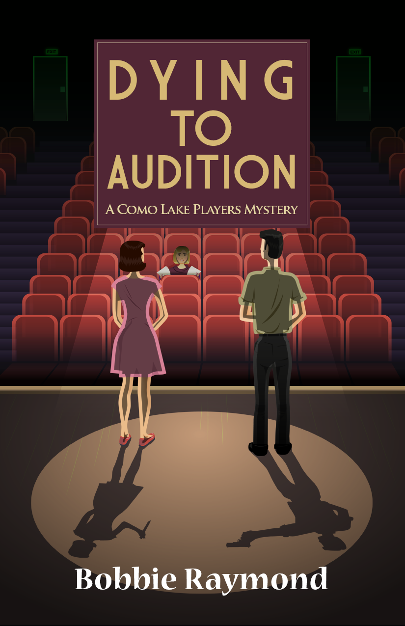 Book cover: Dying to Audition