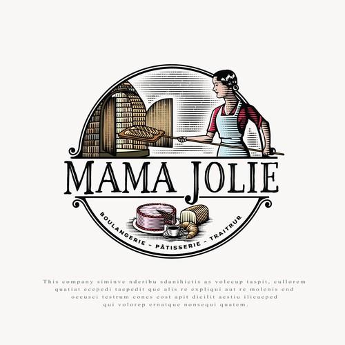 Logo for Mama Jolie.