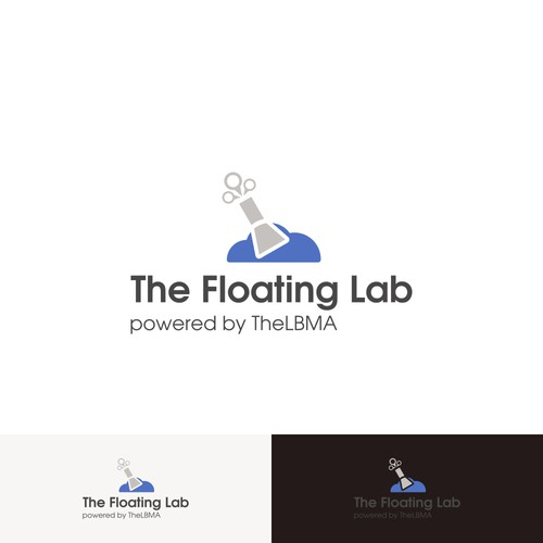 Cloud and float for The Floating Lab