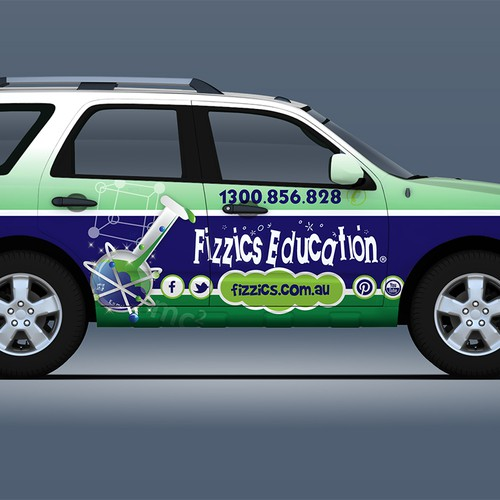 Make our car fleet look awesome and just a little bit geeky!
