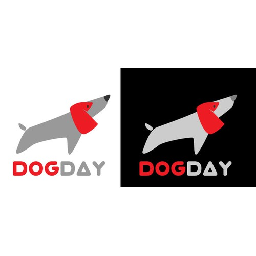 Initial Logo Design for Dog Day Apps