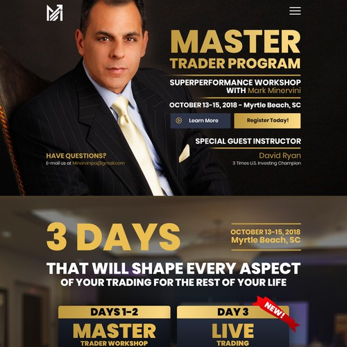 Master Trader Program - Superperformance Workshop with Mark Minervini