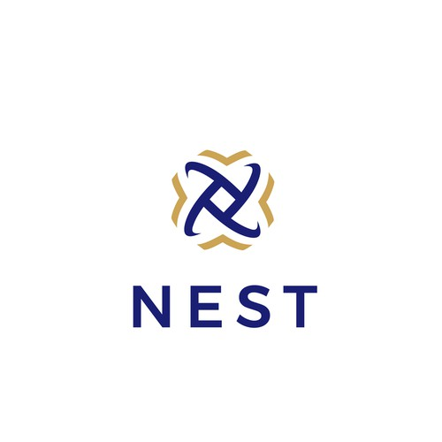 """Logo for  engaging brand for the UBC student """"Nest"""" building"""