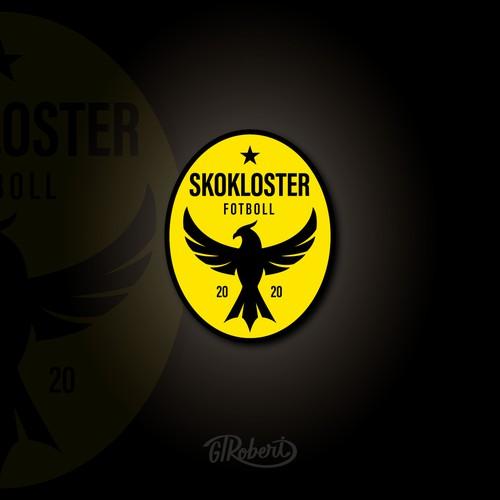 Skokloster Fotboll logo design