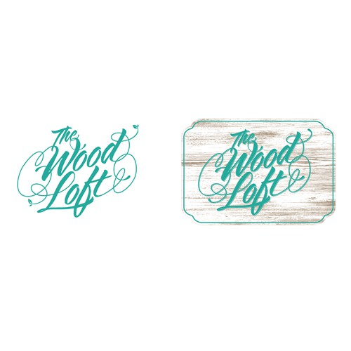 Script Logo for Wood Craft Company.