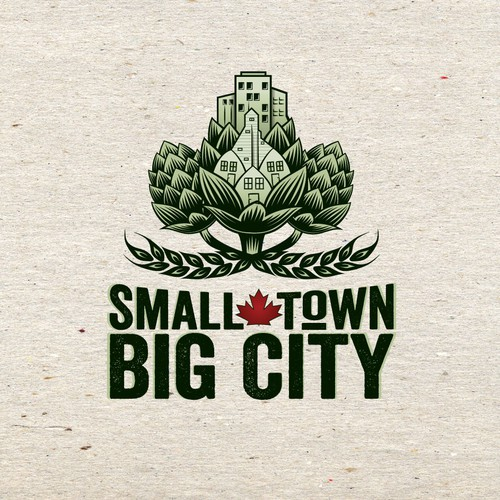 Winning logo design for Small Town Big City