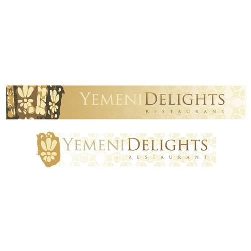 Yemeni Delights logo and and sign design