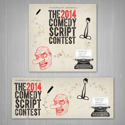 Comedy Screenplay Contest ad