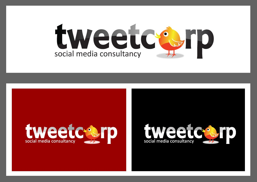 Create the next logo for TweetCorp