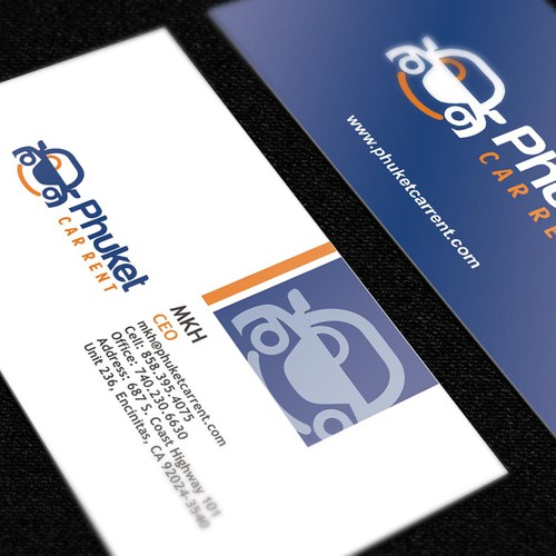 Car Rent Logo and Business Card