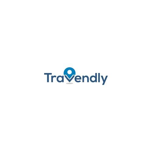 Travendly logo design