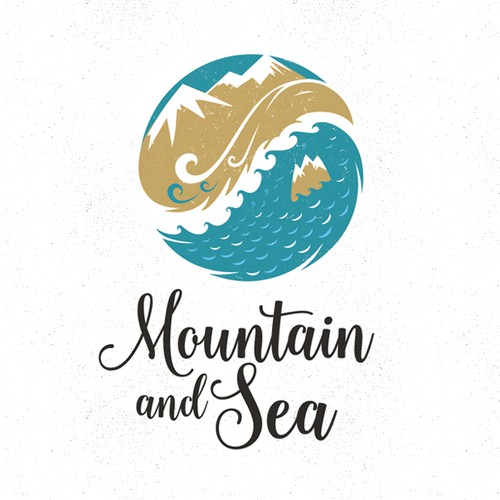 Logo for Mountain and Sea