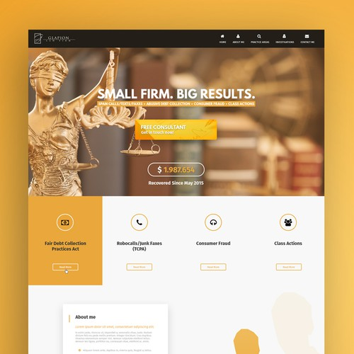 Lawyer Studio Web Design