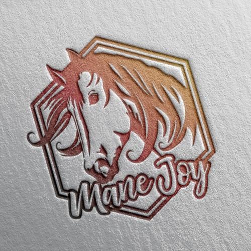 Design a fun and modern horse logo for a Colorado nonprofit