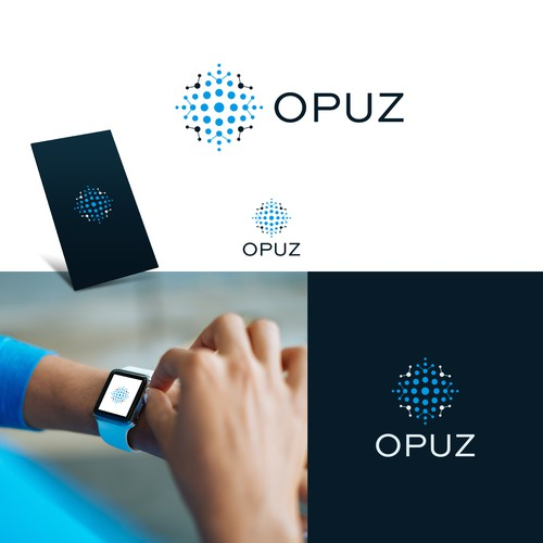 OPUZ logo and hosted website design