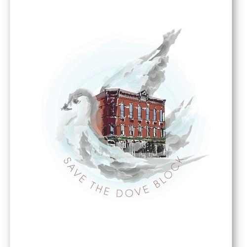 bold logo concept for community & non-profit