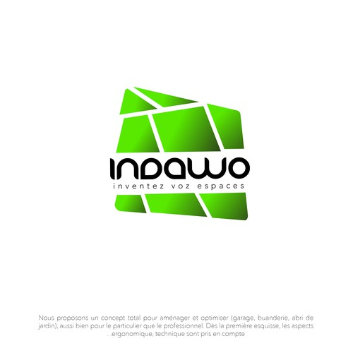 Indawo logo concept