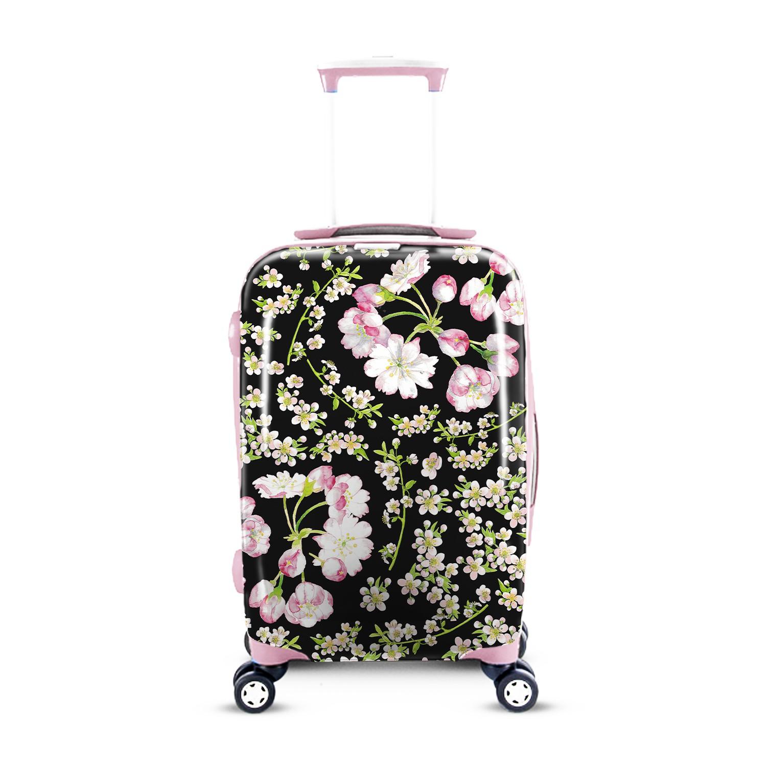 Create a Cherry Blossom Print for a Luggage Design