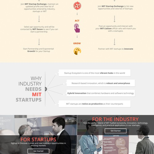 Make your mark designing MIT's Startup Exchange