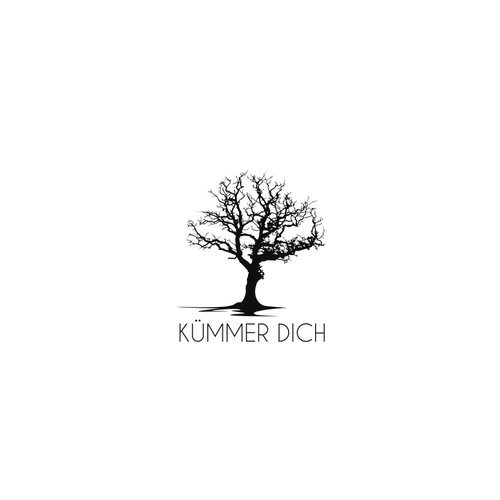 simple logo for kummer dich