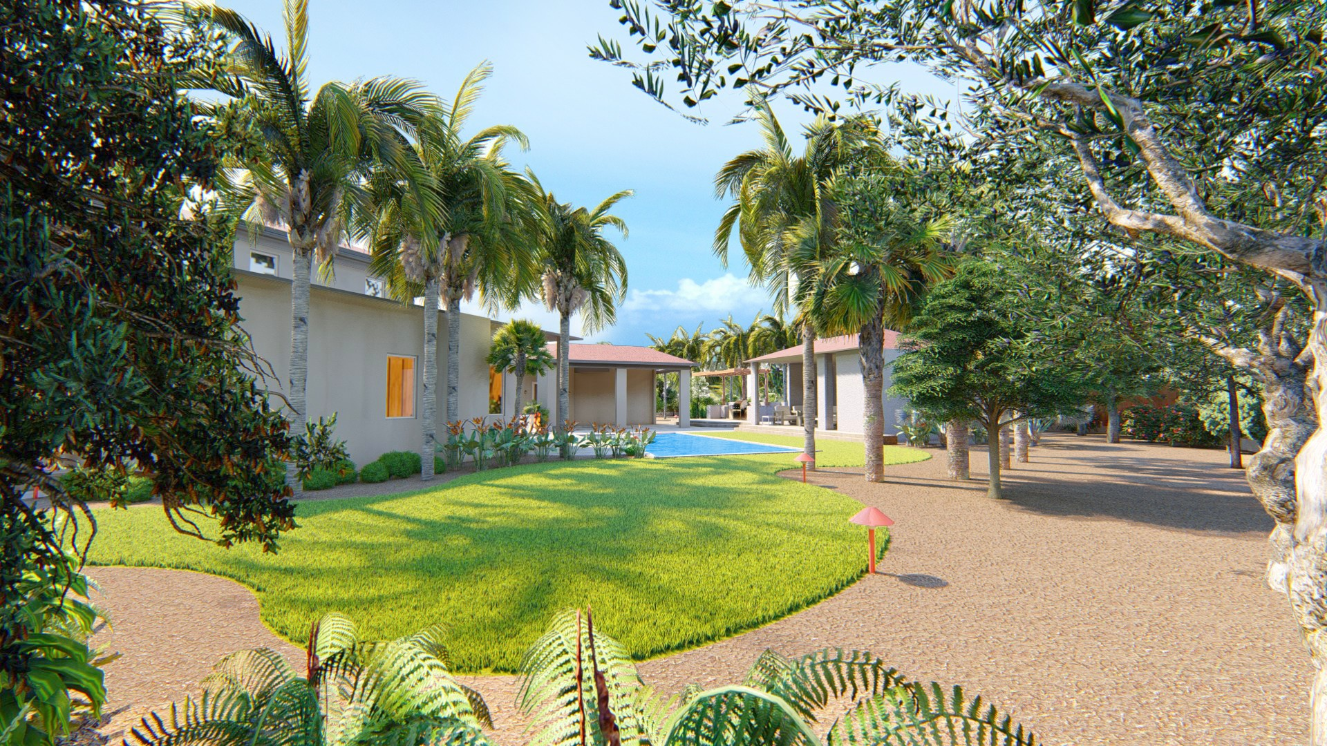 ✨Fresh Landscape 🌴 Architecture 🏛️Project ✨