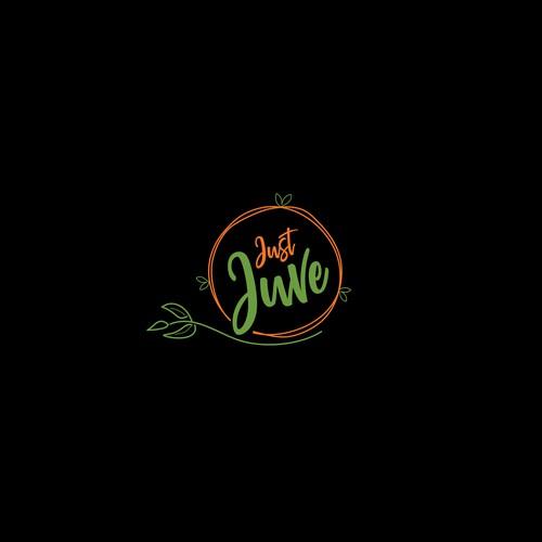 Logo for an organic food company