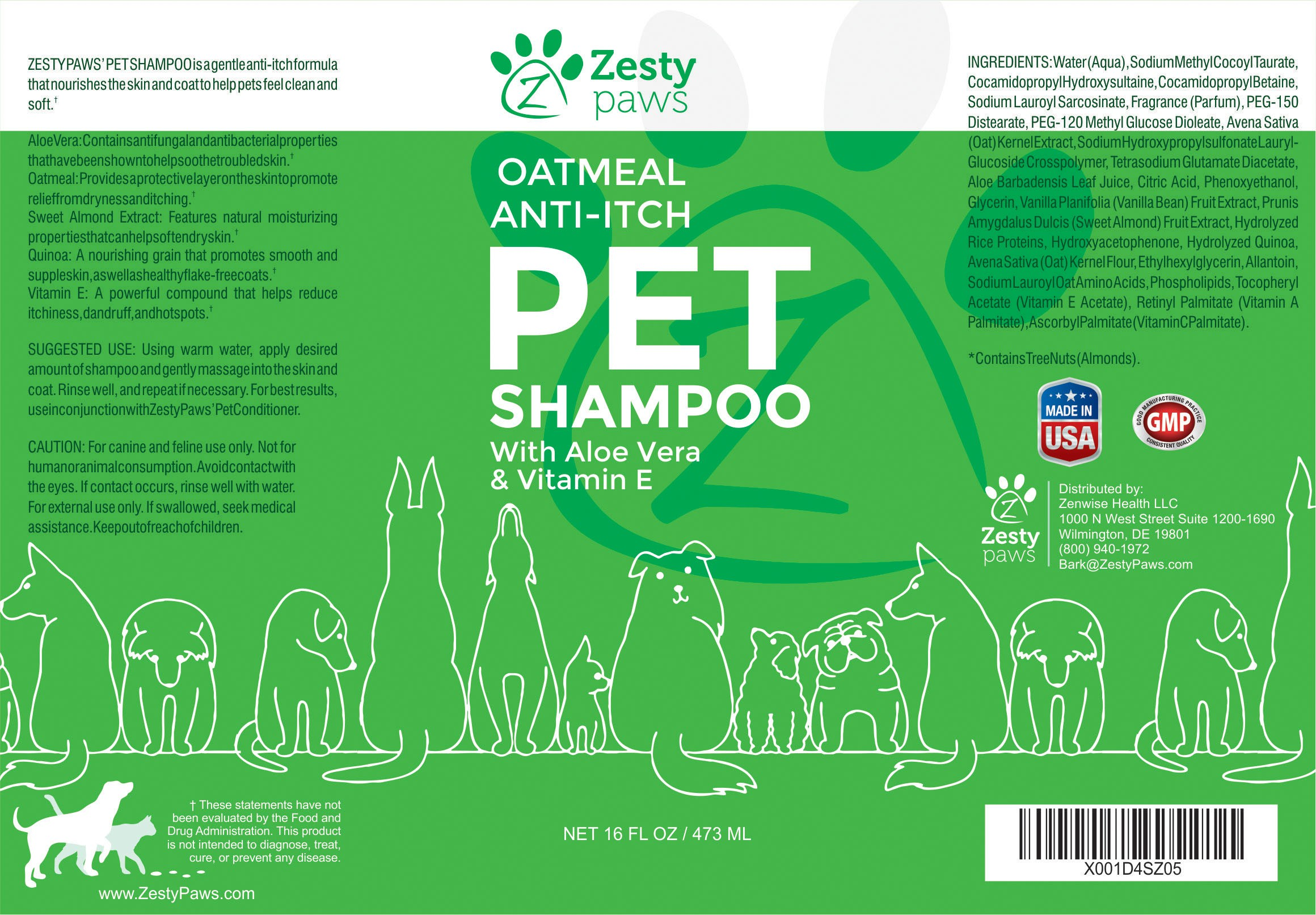 (Blind Contest) Design a new product label template for our new pet grooming line!